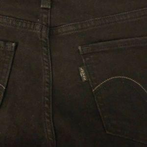 Levi's Jeans - Black skinny Levi jeans
